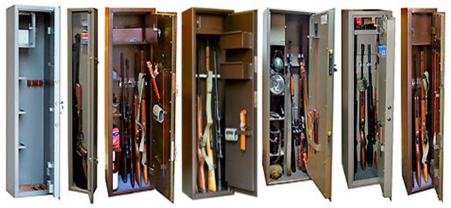 Как выбрать оружейный сейф?