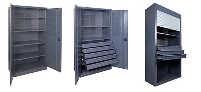 Инструментальный шкаф – железный порядок в мастерской