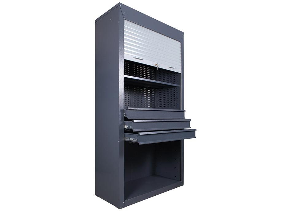 Инструментальный шкаф ШИ-10/3П/3В-Р с роллетными дверьми