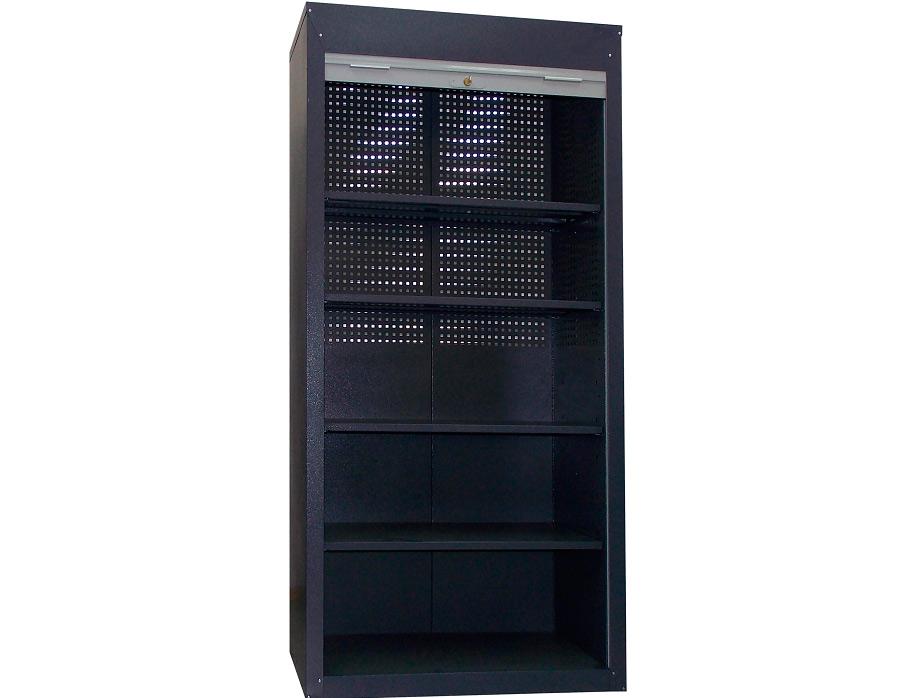 Инструментальный шкаф ШИ-10/4П-Р с роллетными дверьми