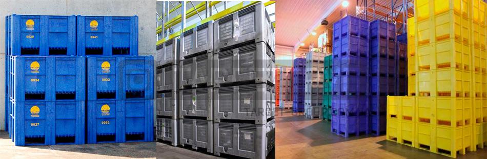 Картинки по запросу Крупногабаритные пластиковые контейнеры – безопасность для тяжелых грузов