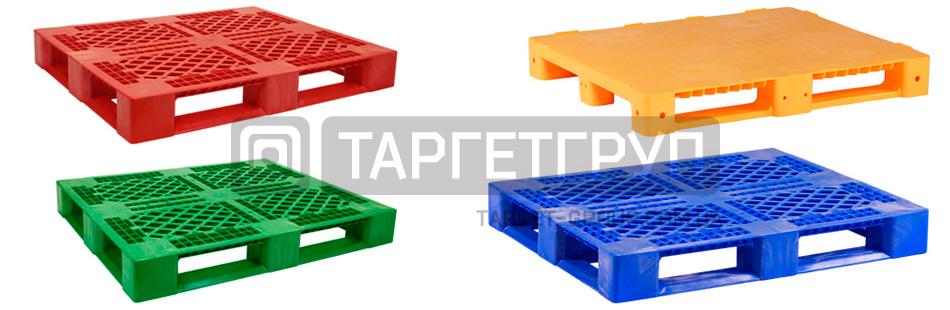 Пластиковые поддоны для склада и производства