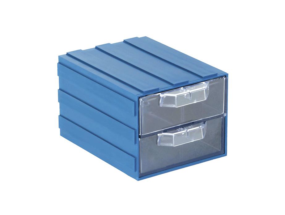 Пластиковый ящик модульный арт. 202-2