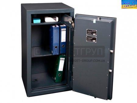 Огневзломостойкий сейф Паритет F60CLI.90.E, производство Украина, соответствует классу: огнестойкости 60Б по ДСТУ Б В.1.1-4-98, взломоустойчивости - I класс по ДСТУ 4012-1:2005.