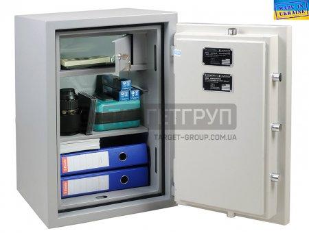 Сертифицированный огневзломостойкий сейф ONIX F30CL I.70.E, производство Украина, соответствует классу: огнестойкости 30Б, взломоустойчивости - 1 класс.