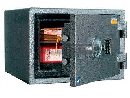 Огневзломостойкий сейф Valberg ГАРАНТ 32 EL соответствует классу: огнестойкости 60Б, взломоустойчивости - 1 класс.