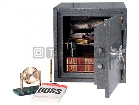 Огневзломостойкий сейф Valberg ГАРАНТ 46 соответствует классу: огнестойкости 60Б, взломоустойчивости - 1 класс.