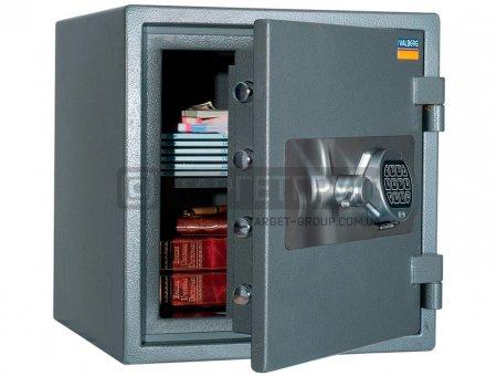 Огневзломостойкий сейф Valberg ГАРАНТ ЕВРО 46 EL соответствует классу: огнестойкости 60Б, взломоустойчивости - 1 класс.