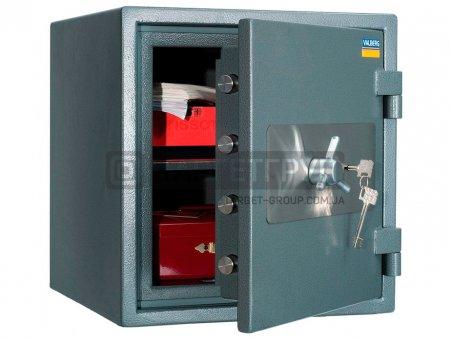 Огневзломостойкий сейф Valberg ГАРАНТ ЕВРО 46 соответствует классу: огнестойкости 60Б, взломоустойчивости - 1 класс.