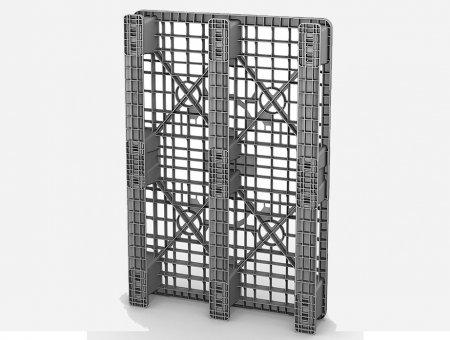 Пластиковые паллеты 1200х800 для хранения и транспортировки