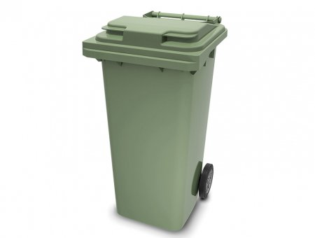 Пластиковый мусорный бак 120 л