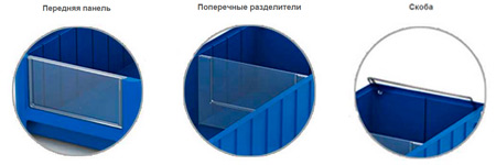 Пластиковый ящик SK 31509