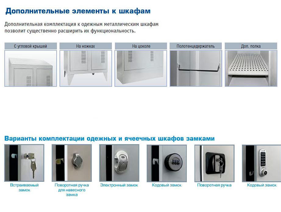 Шкаф одежный ШО 400/2 исп. 01