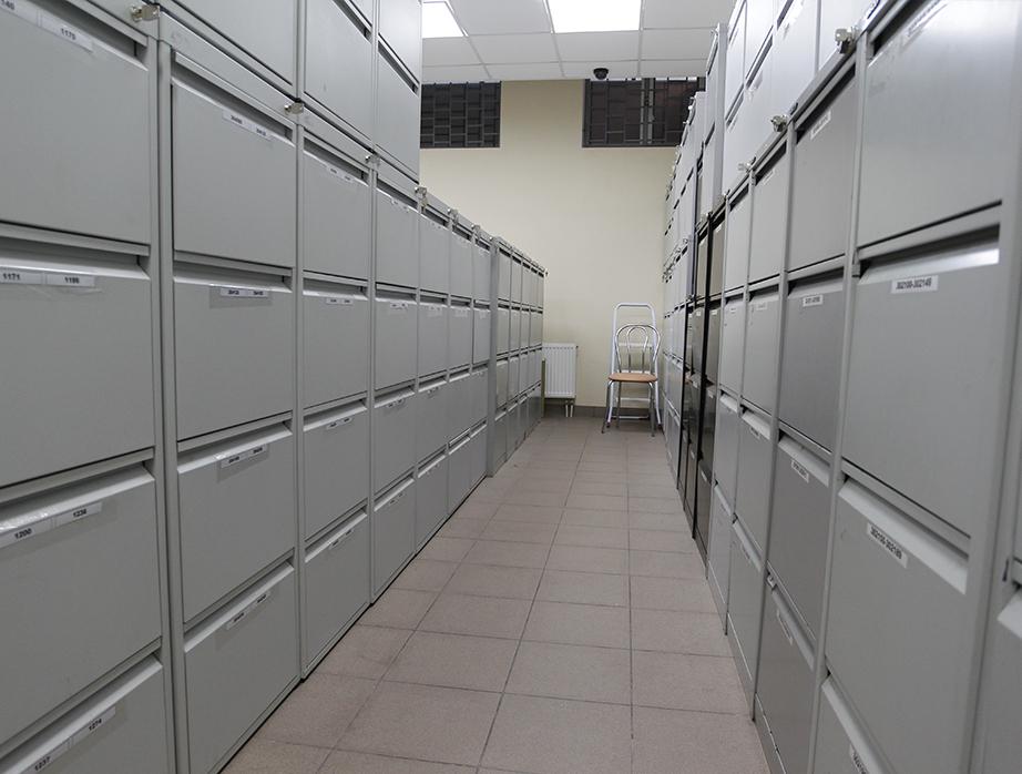 Шкаф архивный ШМР-18/1 пенал