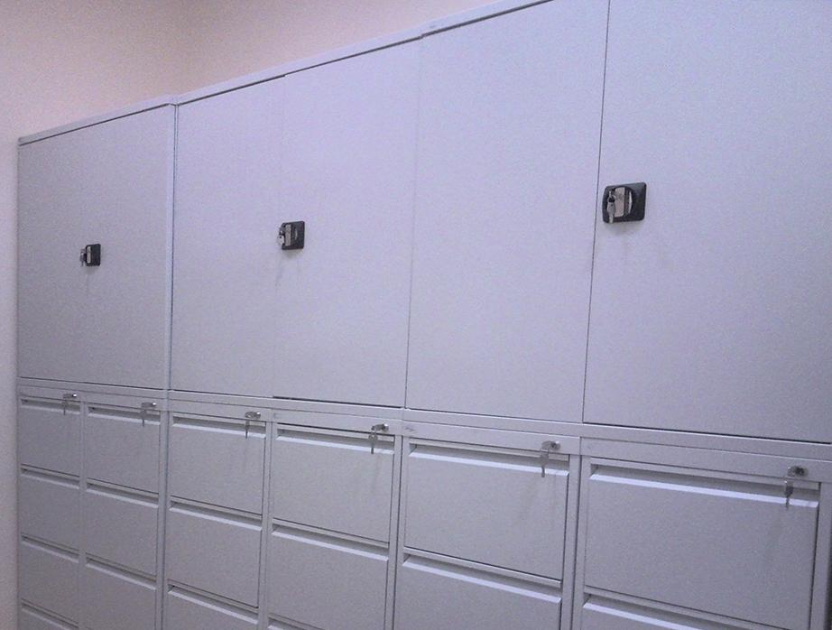 Шкаф архивный ШКБ-6 пенал