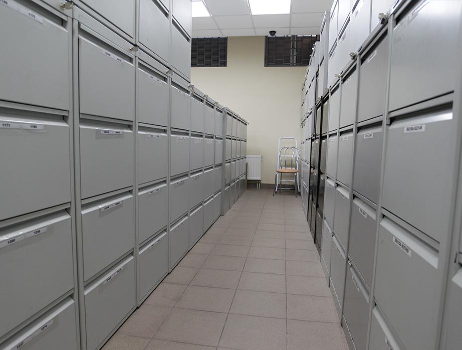 Шкаф архивный ШКГ-6 пенал