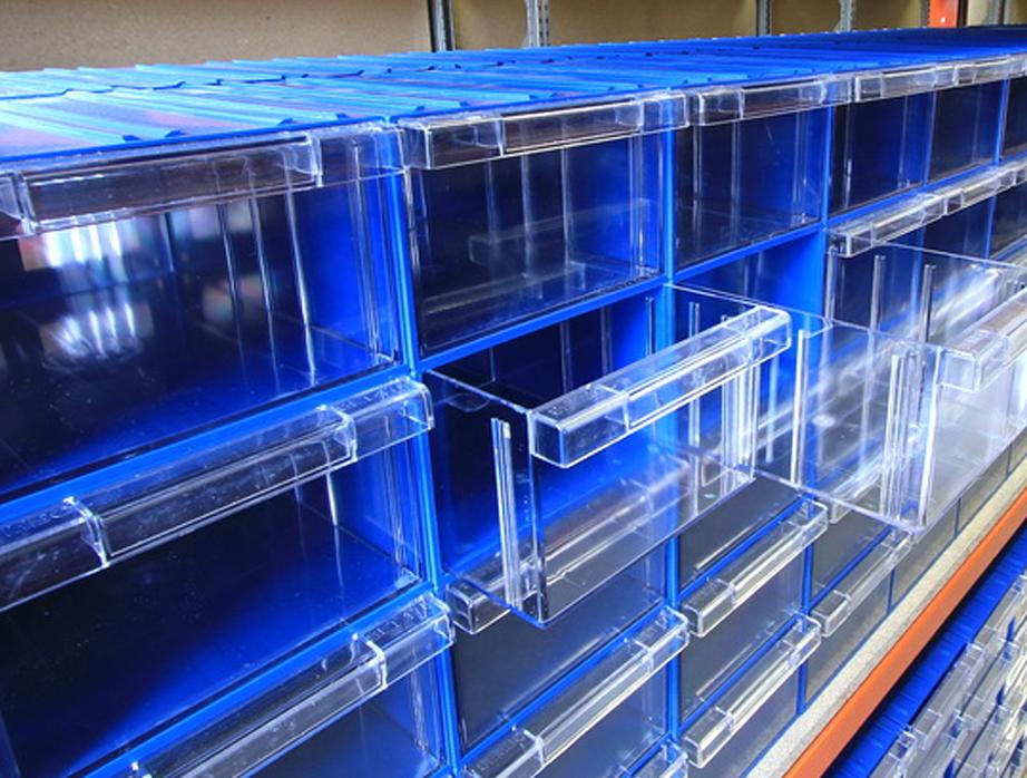 Пластиковый ящик модульный арт. 102-3