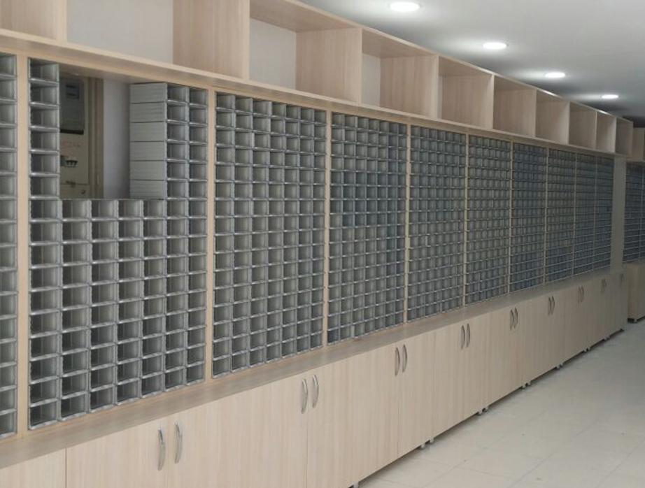 Пластиковый ящик модульный арт. 302