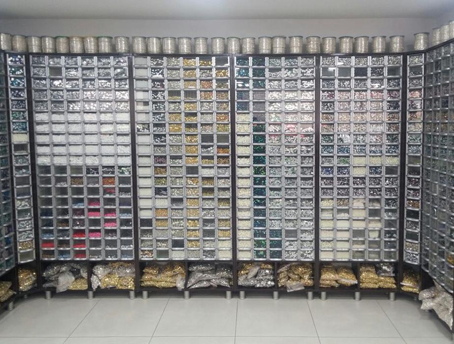 Пластиковый ящик модульный арт. 501-2