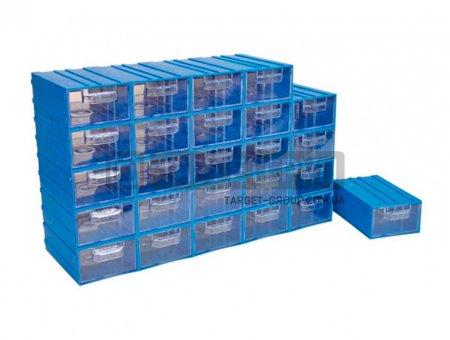 Пластиковый ящик модульный арт. 302-3