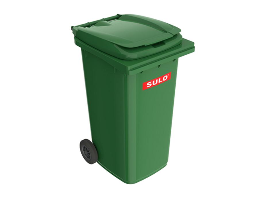 Мусорный бак 120 л SULO зеленый