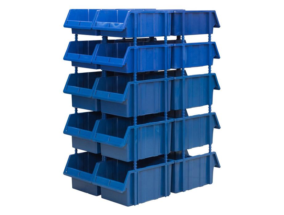 Пластиковый стеллаж SET 515-8/520-12