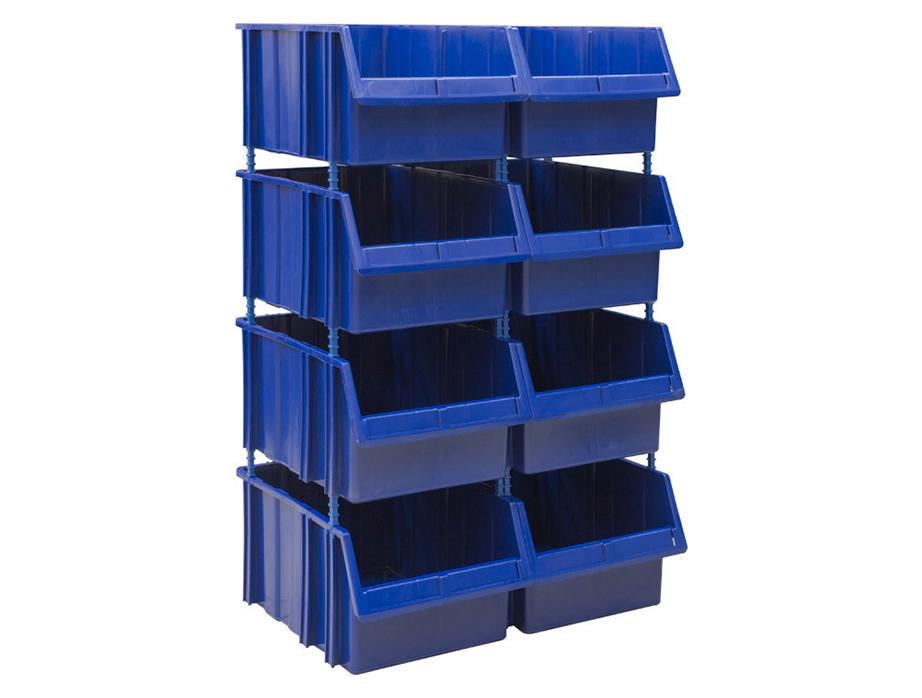 Пластиковый стеллаж SET 550-8