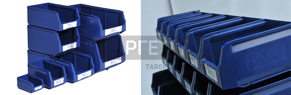 Пластиковые лотки для склада – одно из самых практичных решений для систематизации мелкоштучного товара