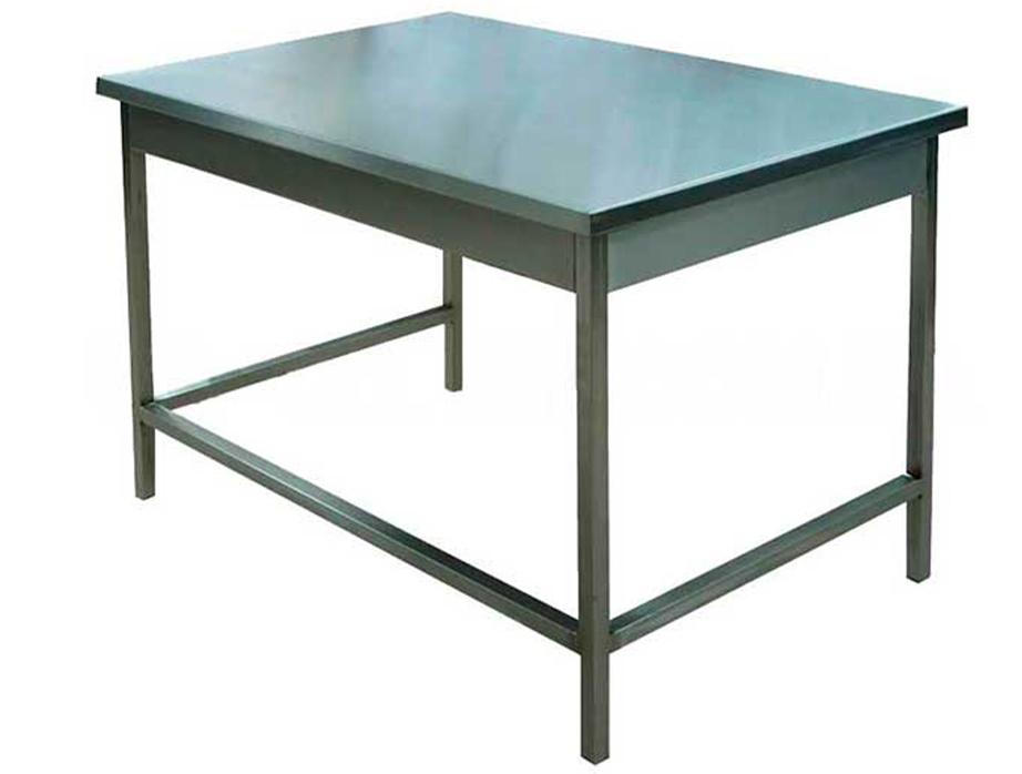 Стол 1500x600 из нержавеющей стали