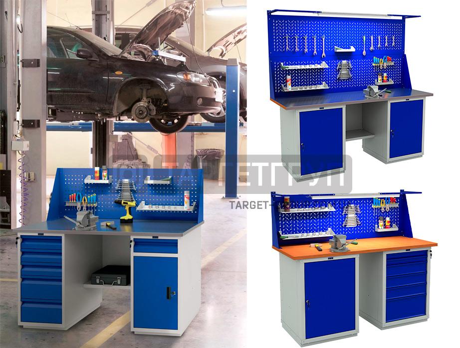 Верстаки и промышленная мебель для инструмента