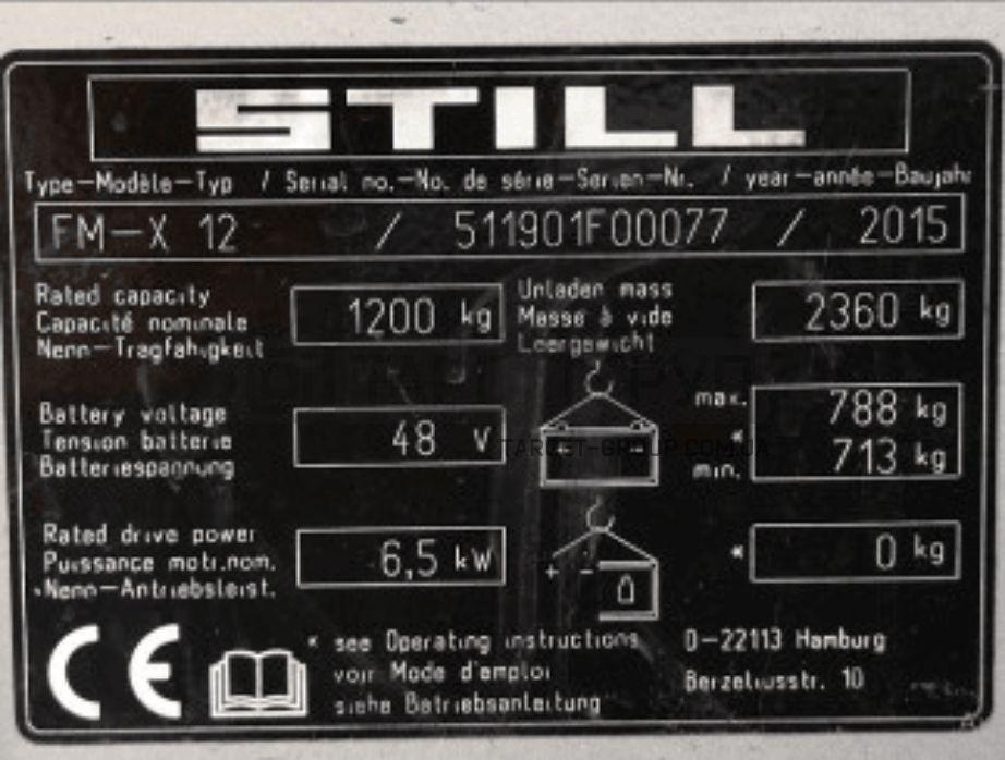 Штабелер электрический STILL FM-X12