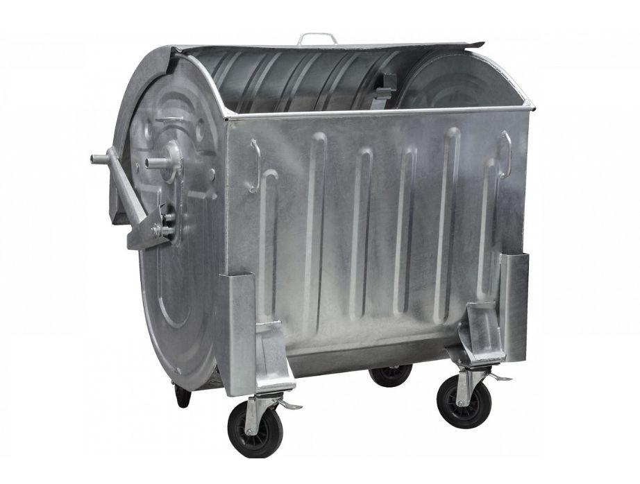 Контейнер для ТПВ 1100 л. Цинк