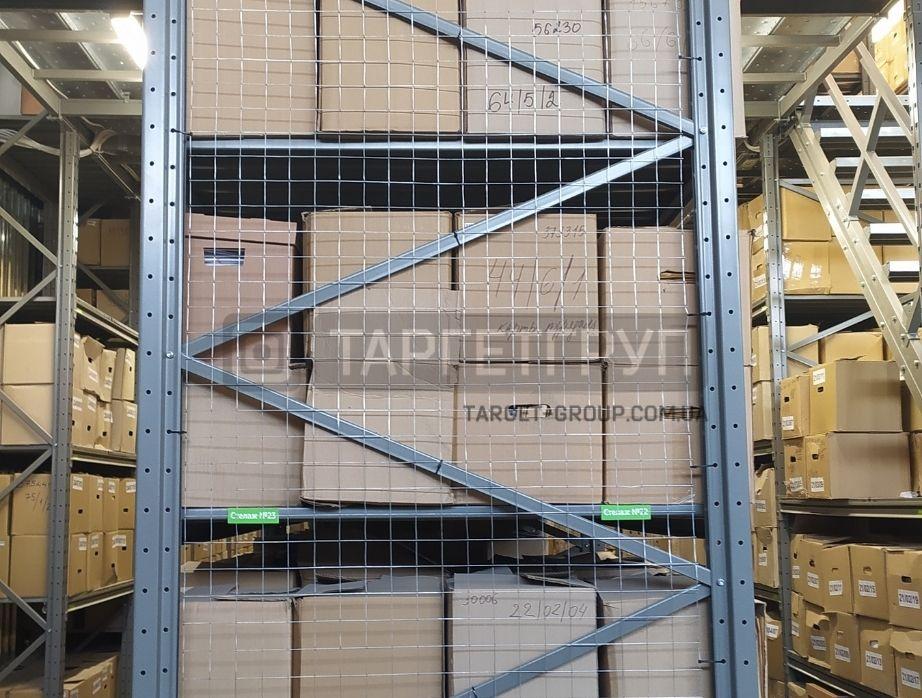 Проєктування стелажів для зберігання архівних коробів
